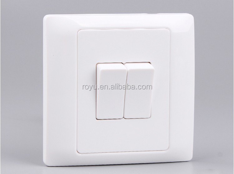 1 Gang 3 Way SwitchElectrical Light SwitchBritish Style 10a 250v