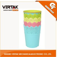 Over 15 years experience best selling plastic flower pot liners