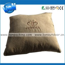 velvet pillows with branded customize for cars or sofa
