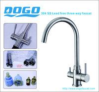 Brita brushed 3-way dispenser water filter system