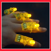 yellow colour led finger light,led light up finger light with 3XAG3 battery