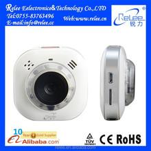 Rechargeable portable wireless mini wifi hidden 360 viewerframe mode ip camera
