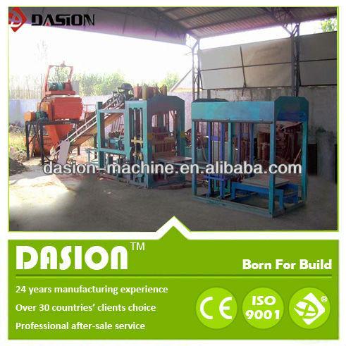 Venta DS4-35 prensa hidráulica de bloques de enclavamiento que hace la máquina