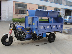250cc motorized garbage tricycle, dump truck
