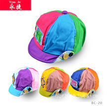 china wholesale cotton soft baby summer caps