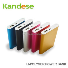 New products 2015 Powerbank Portable Charger External Battery Li-Polymer Power Bank 8000mAh Capacity for samsung galaxy s5
