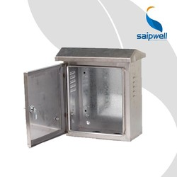 Saip/Saipwell 304 Stainless Steel Enclosure Box Made in China Electronic IP66 Outdoor Waterproof Stainless Steel Enclosure