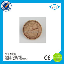 china wholesale cheap Metal arts and crafts old gold coin