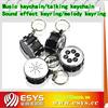 Custom sound effect keychain with EN71 report