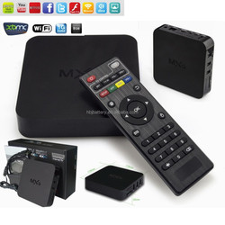 Android4.4 smart android tv box of quad core with world wild channel iptv box