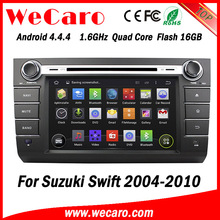 """Wecaro WC-SS7668 7"""" Android 4.4.4 WIFI 3G touch screen car multimedia system for suzuki swift car dvd player gps 2004 - 2010"""