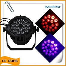 Led par 64 light , Bar party DJ lighting 18pcs x 18watt