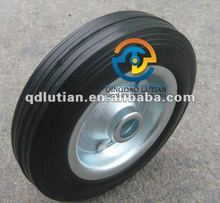 solid rubber wheel, rubber solid wheel, 8 inch solid rubber tyre