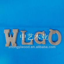 2014 palabras de madera decoración