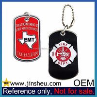 China Manufacturer Cheap Personalized Military Metal Custom Dog Tag