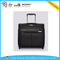 High quality fashion durable laptop trolley bag with large capacity