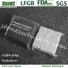 Light grey granite cooling natural stone ice cube