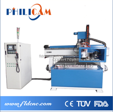 HOT SALE fully automated Italy HSD spindle Taiwan syntec control system atc cnc router 1325