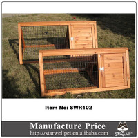 2015 new design cheap wooden rabbit house for sale