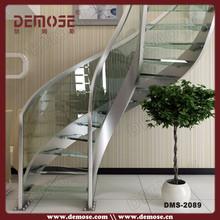 Moderno cristal escaleras del diseño de parrilla se envía a panamá de la ciudad para 26 días