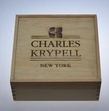 Natural color unfinished pine wooden sliding lid box,wood keepsake box