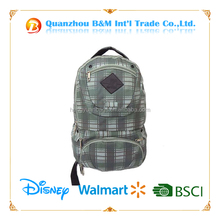 Good quality 600D white day backpack bag