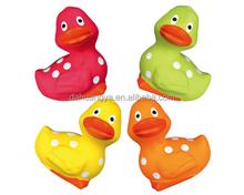 Latex Pet Toys Latex Spot Duck 8cm Pet Latex Toys
