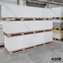 Kkr faux alabastro acrílico panel de resina