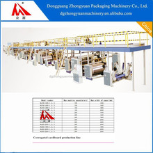 hot sales Corrugated Cardboard production line