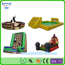 jump sports inflatable games china, inflatable twister game, mechanical bull for sale