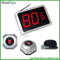 Wireless calling system HCM1600 display receiver+HCM101press button