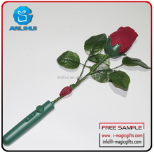 dating led shining flower/ led flashing voice recorder artificial/ voice recorder led flashing red silk rose