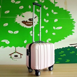 2015 new design abs pc trolley luggage/bag/cabin case abs luggage set