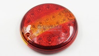 4 inch round led trailer tail lights 20leds led stop tail turn signal light
