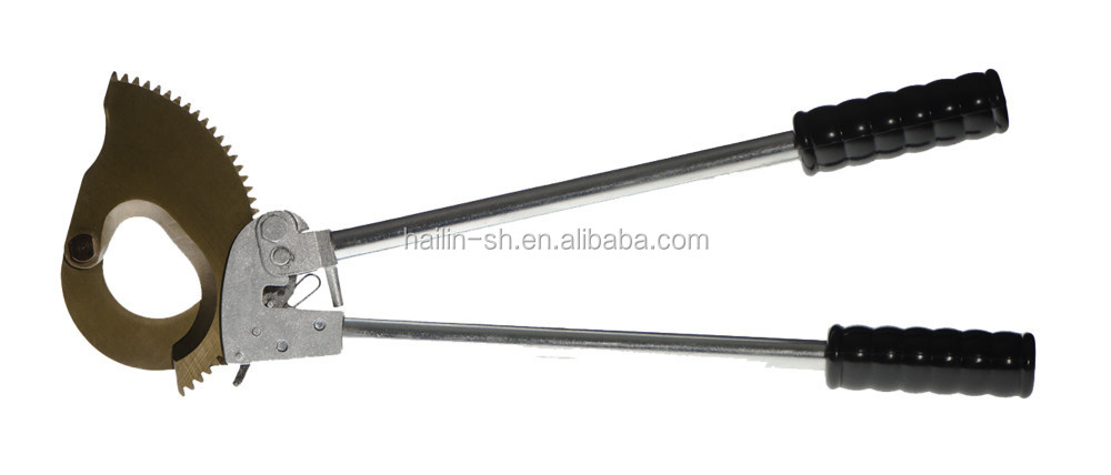 Armored Cable Cutter : Hand rachet cutter high quality armoured cable