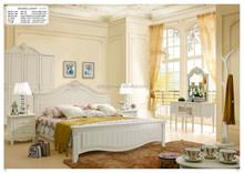 High Headboard Wooden Bed
