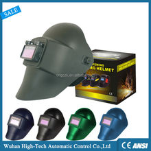 Flip Up Cheap Custom Solar Cell Auto Darkening Welding Helmet For Sale