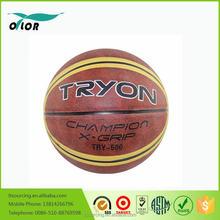 Children toys rubber Novelty outdoor colorful basketballs