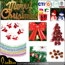 2015 newest design fashion joyous gifts christmas tree decoration with factory direct cheap price