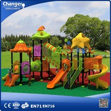 Children outdoor play equipment used playground slides for sale