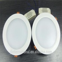 FOB price 12W round LED panel downlight 172*40mm SMD2835 high luminous 1600lm