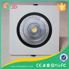 2015 New Recessed adjustable 20w 25w Cob Led Downlight With Ce Rohs Saa Standard