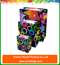 Full Color Printed Low Cost Packaging Paper Bag Custom Paper Bags for Gifts