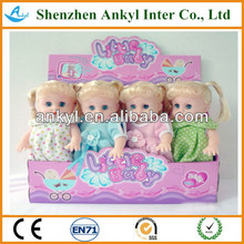 13 inch standing music doll with IC gift item musical doll
