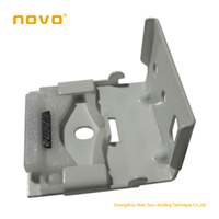 2014 China top sell roman shade bracket /roman shade components / curtains by NOVO factory