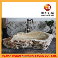 unique design hand carved marble stone basin