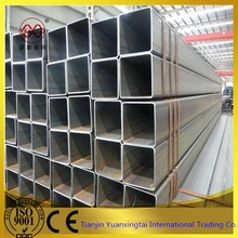 q235 black iron square iron pipe porn tube 8 from China manufacture