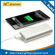 Mobile Power Bank - High Capacity 5000 Mah Metal Power Pack Battery Charger