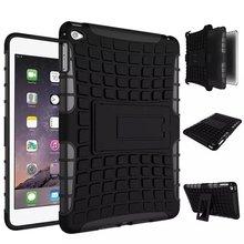 Hybrid Combo TPU PC Shcokproof Case Cover For iPad Mini 4