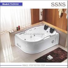 Double Sitting Jetted Whirlpool Bathtub (TMB006)